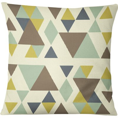 San Juan Indoor/Outdoor Throw Pillow Size: 16 H x 16 W, Color: Blue/Multi