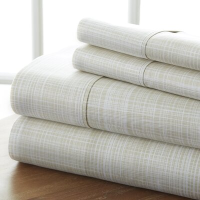 Sandspring Thatch Sheet Set Color: Ray, Size: Queen