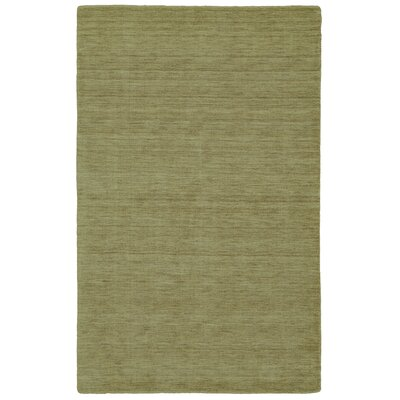 Chazy Hand-Woven Green Area Rug Rug Size: Rectangle 23 x 39