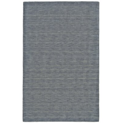 Chazy Hand-Woven Smoke Area Rug Rug Size: Rectangle 23 x 39