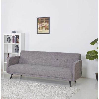 Zelmo Sleeper Sofa Upholstery: Ash