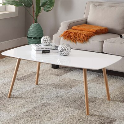 Phoebe Coffee Table Finish: White