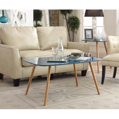 Phoebe Coffee Table Color: Blue
