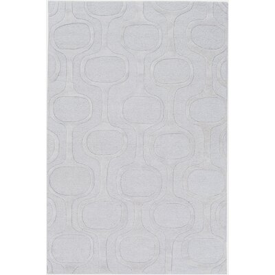 Coldspring Hand-Tufted Light Gray Area Rug Rug Size: 2' x 3'