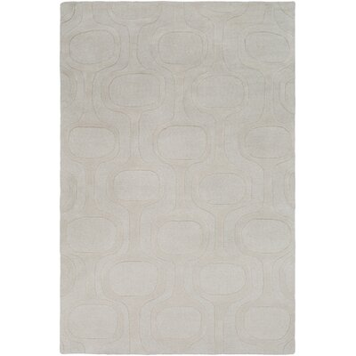 Coldspring Hand-Tufted Ivory Area Rug Rug Size: Rectangle 5 x 76