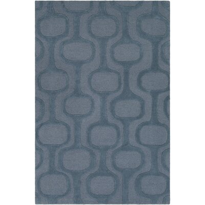 Coldspring Hand-Tufted Denim/Teal Area Rug Rug Size: Rectangle 5 x 76
