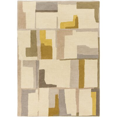 Burbank Hand-Tufted Geometric Area Rug Rug Size: Rectangle 5 x 76