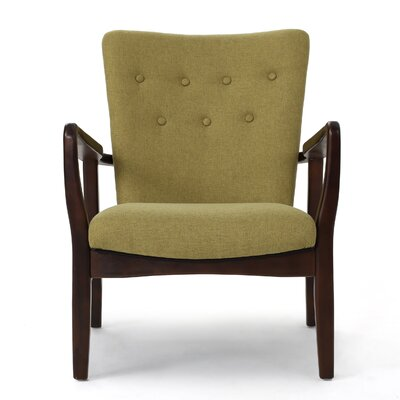 Andrew Arm Chair Upholstery: Wasabi
