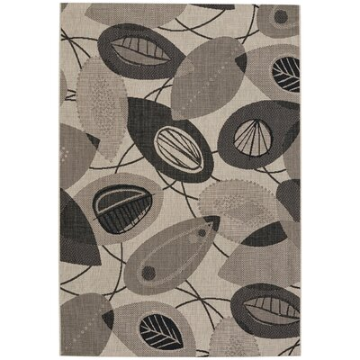 Malle Machine Woven Beach Cinders Area Rug Rug Size: 3 11 x 5 6