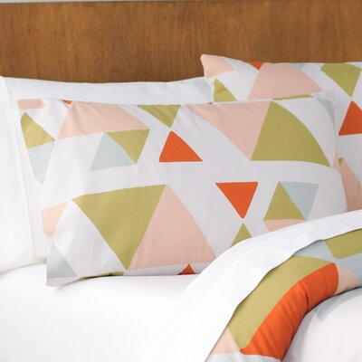 Hague Pillow Cover Size: 20 H x 40 W, Color: Pink/Multi
