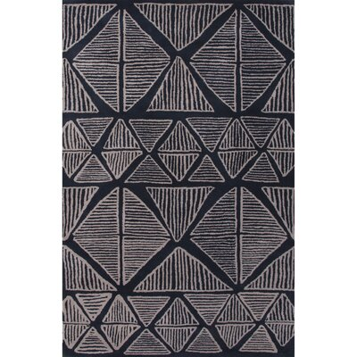 Palm Springs Blue & Gray Area Rug Rug Size: 2 x 3