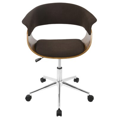 Jillian Mid-Century Modern Desk Chair