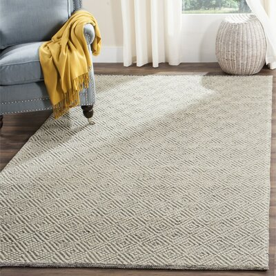 Daytona Beach Hand-Tufted Ivory Area Rug Rug Size: Rectangle 4 x 6