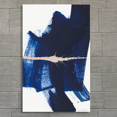 Brushstrokes 4 Graphic Art on Canvas