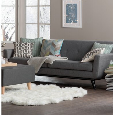 Carnmore Sofa Upholstery: Grey