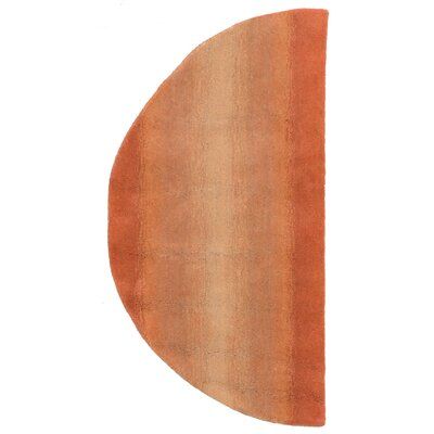 Belding Hand-Tufted Orange Area Rug