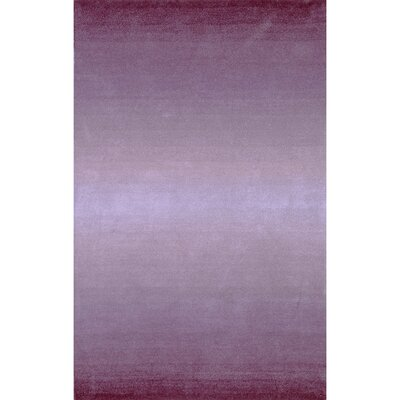 Belding Hand-Tufted Wool Purple Area Rug Rug Size: Rectangle 83 x 116