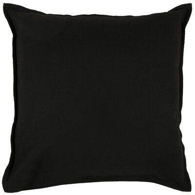 Columbine 100% Cotton Throw Pillow Color: Black