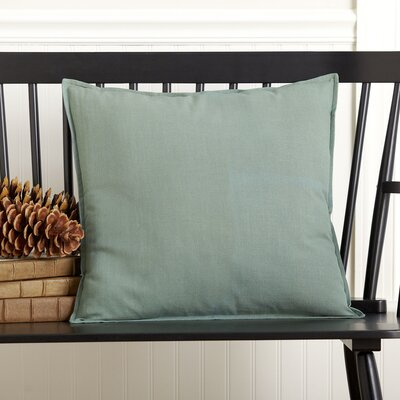 Chaplin 100% Cotton Pillow Cover Color: Green