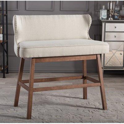 Drury Upholstered Bar Dining Bench