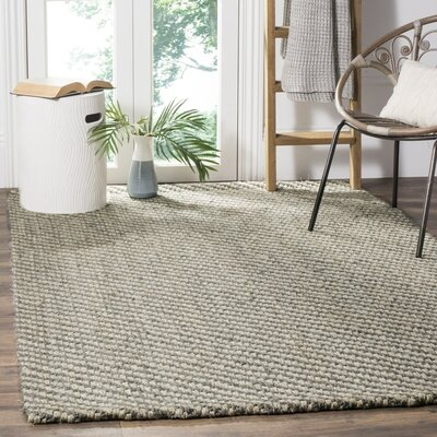 Valentina Beige/Gray Area Rug Rug Size: Rectangle 4 x 6