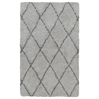 Vaquero Hand-Tufted Taupe/Brown Area Rug Size: 76 x 96