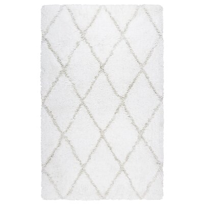 Vaquero Hand-Tufted Tan/White Area Rug Size: Rectangle 76 x 96