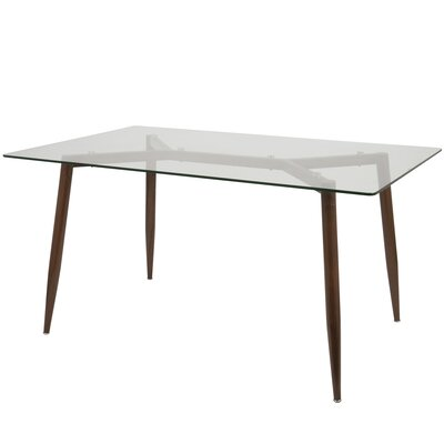 Canisteo Dining Table Base Finish: Walnut