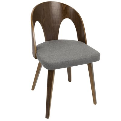 Andrea Side Chair Upholstery: Gray