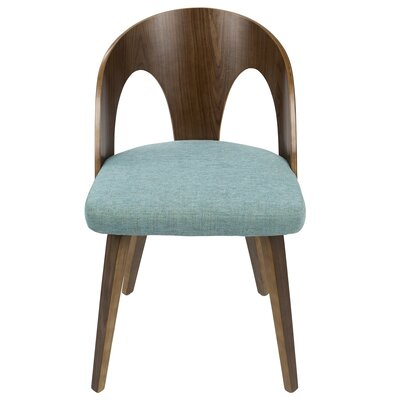Andrea Side Chair Upholstery: Teal