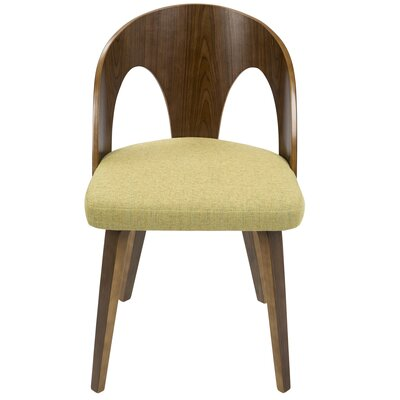 Andrea Side Chair Upholstery: Yellow