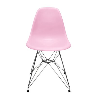 Neville Side Chair Finish: Pink