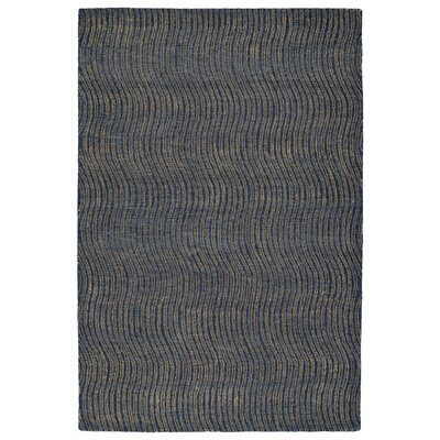 Caneadea Hand-Tufted Blue Area Rug Rug Size: Rectangle 3'6