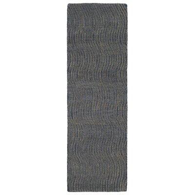 Caneadea Hand-Tufted Blue Area Rug Rug Size: Runner 26 x 8