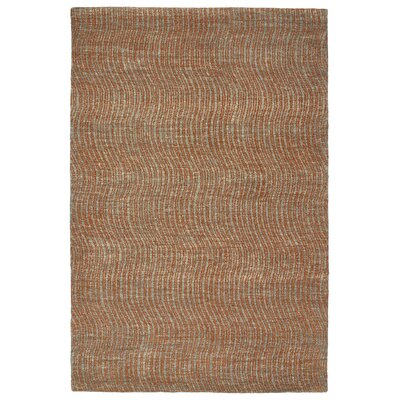 Caneadea Hand-Tufted Paprika Area Rug Rug Size: Rectangle 5 x 79