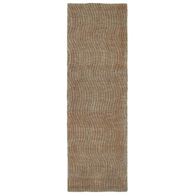 Caneadea Hand-Tufted Paprika Area Rug Rug Size: Runner 26 x 8