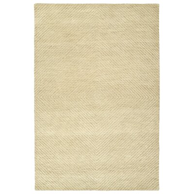 Caneadea Hand-Tufted Sand Area Rug Rug Size: Rectangle 2 x 3