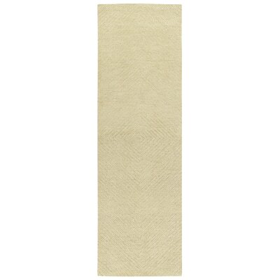 Coronado Hand-Tufted Sand Area Rug Rug Size: Runner 2'6