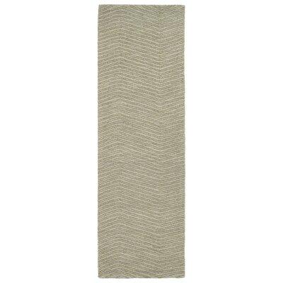 Coronado Hand-Tufted Green Area Rug Rug Size: Runner 2'6