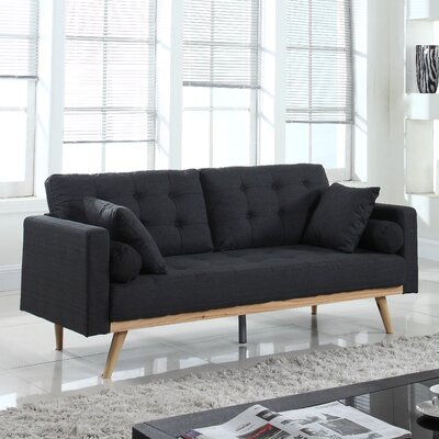 Kenya Sofa Finish: Dark Gray