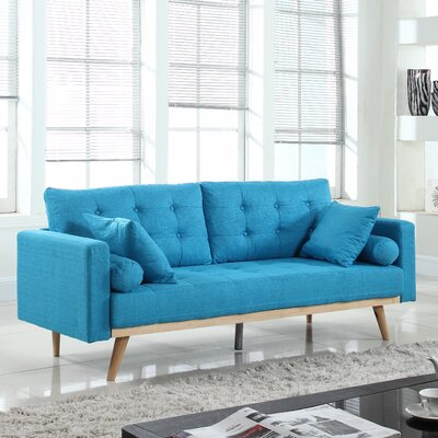 Kenya Sofa Finish: Light Blue