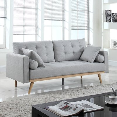 Kenya Sofa Finish: Light Gray