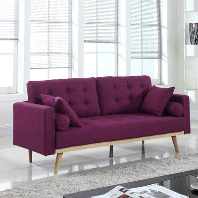 Kenya Sofa Finish: Purple
