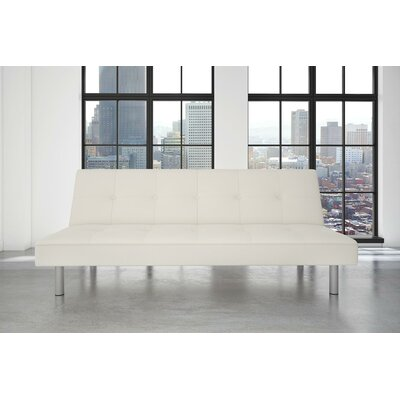 Algarve Convertible Sofa Upholstery: Ivory