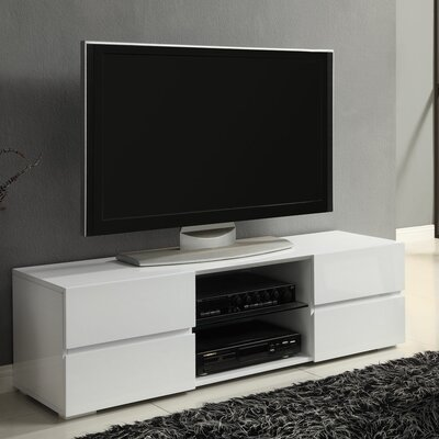 Hilltop TV Stand Finish: White