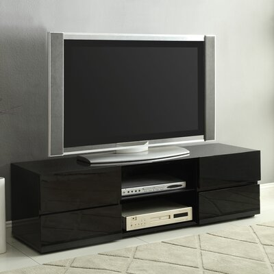 Kenilworth 55 TV Stand Color: Black