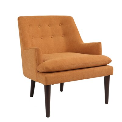 Wellfleet Armchair Upholstery: Orange
