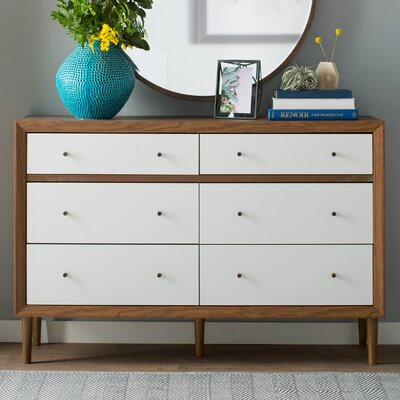 Sunset 6 Drawer Dresser