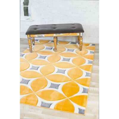 Dossantos Mango Indoor/Outdoor Area Rug Rug Size: 52 x 72