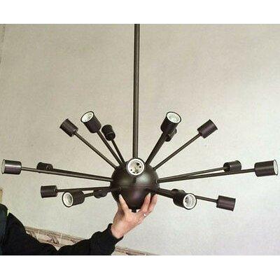 Weiss 18-Light Sputnik Chandelier